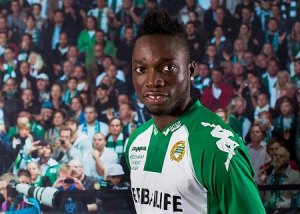 Rennie expects to be in the thick of Hammarby's attack this season  Photo: Hammarbyfotboll.se