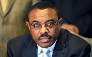 Outgoing AU Chairman Hailemariam Dessalegn