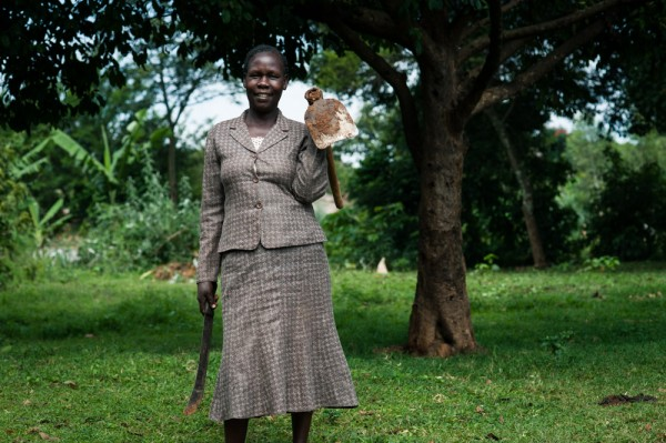 Anne Wafula is a Kenyan farmer photo:one.org