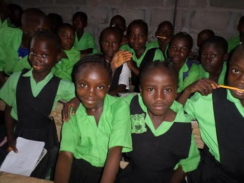 Thanks to DAPI, these poor kids have the chance to get an education