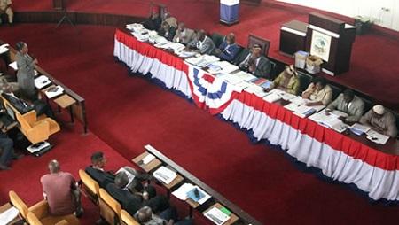 Liberian legislature in session photo: legislature.gov.lr