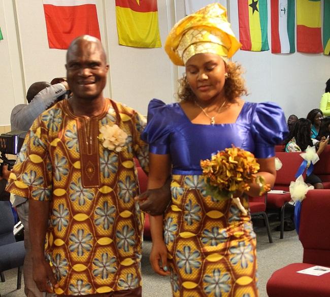 Lawubah marches with Fazee fasuekoi last October