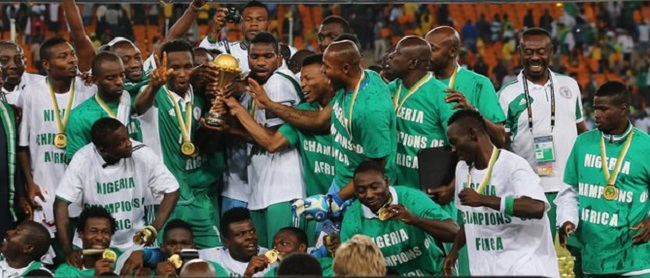 African champions Nigeria are one of five teams flying the continent's torch