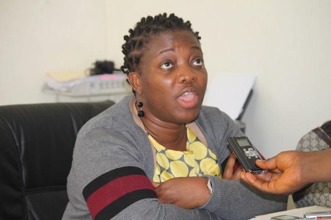 Williametta E. Saydee-Tarr, executive director of Gbowee Peace Foundation Africa