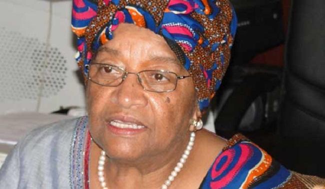 President Sirleaf has failed to advance the collective good, the group says