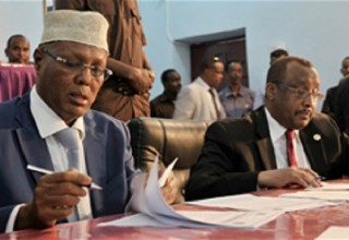 Somali officials recently signed a peace and stability deal