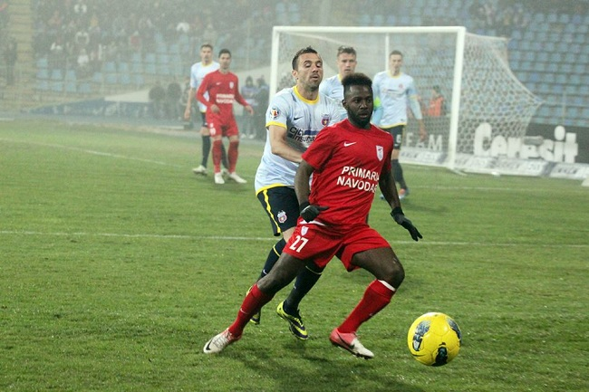 Dulee Johnson in action in the Romanian league
