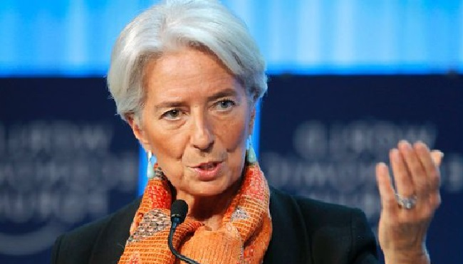 IMF chief Lagarde wants partnerships with the two countries strengthened