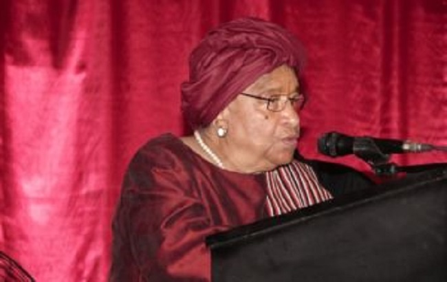 President Sirleaf delivers keynote address at National Consultaive Conference