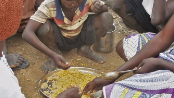 Many families have had to drastically reduce their daily food intake
