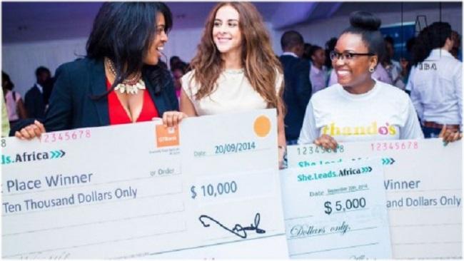 Top 3 Finalists Cherae Robinson, Nour Drissi, Taffi Ayodele - 2014 Entrepreneur Showcase