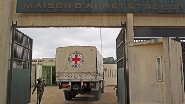 The Holding and Corrections Prison of Abidjan (MACA) is home to more than 6,000 inmates, many of them children. Photo: ICRC