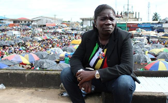 Liberian journalist Mae Azango