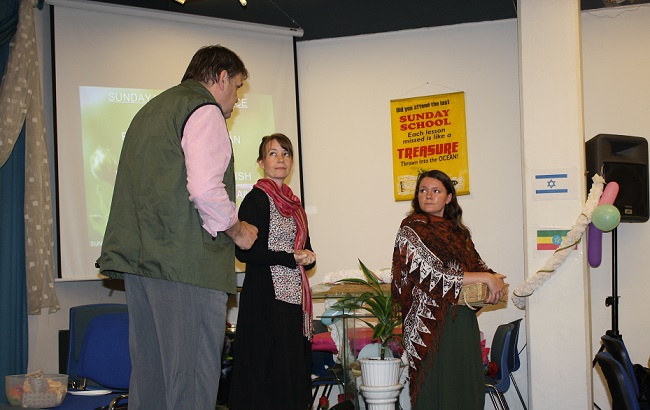 Covenant Players drama group performs one of their plays