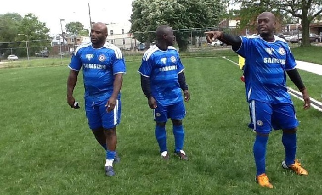 Legends' Patrick Sahr, Abraham Karnga and Ansu Sirleaf are set to defend the title