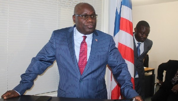 Ambassador Nyenabo will speak on Saturday