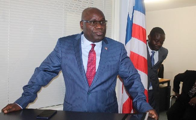 Ambassador Nyenabo is optimistic