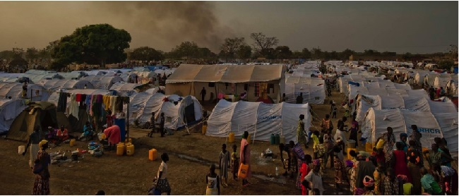 Almost 700,000 South Sudanese now live as refugees in neighbouring countries. Pic: UNHCR