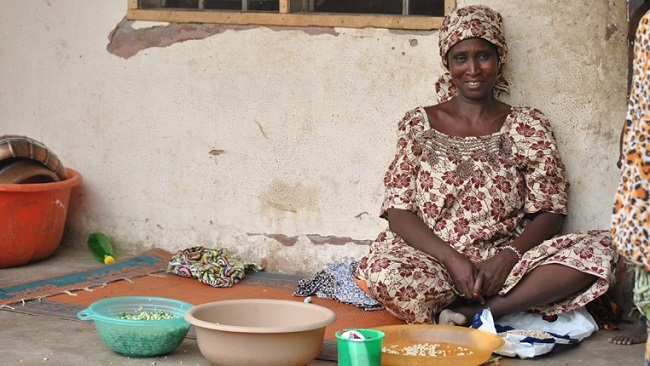 Many families in northeastern Nigeria are forced to survive off just one meal a day, after being displaced by Boko Haram and losing their main sources of income Photo: Fragkiska Megaloudi/IRIN