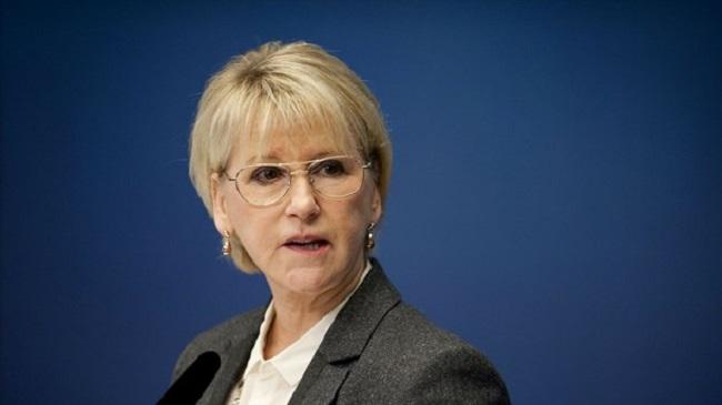 Sweden's Foreign Minister Wallström