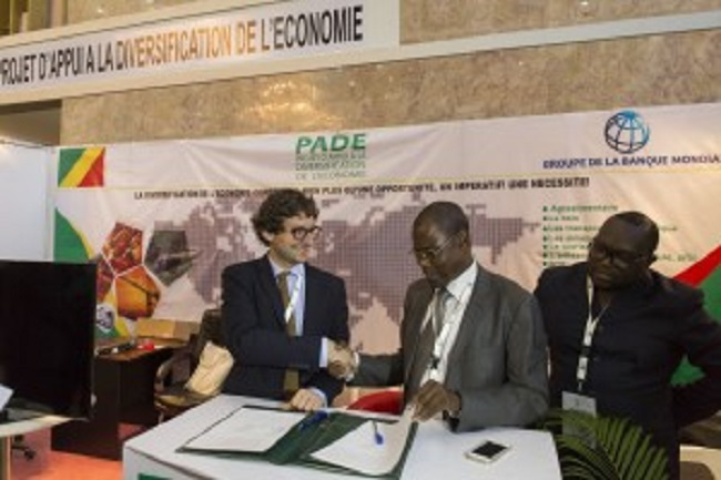 Signing of a partnership deal between the PADE and MEDEF INTERNATIONAL
