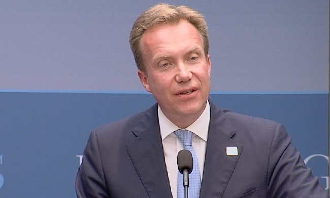 Norway's Foreign Minister Borge Brende Photo: Norway Post
