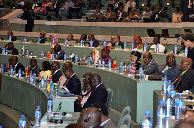 A cross section of the delegates at Sunday's event in Abuja Photo: ECOWAS Press