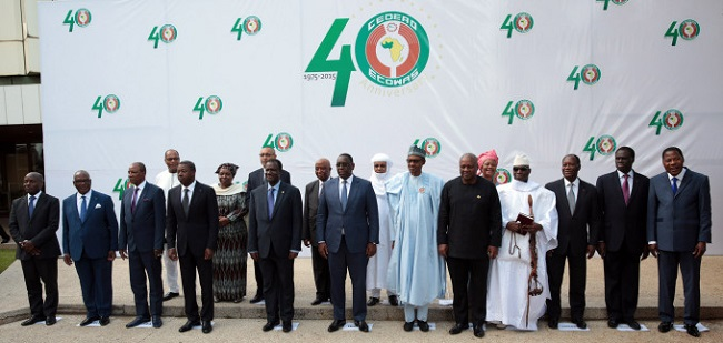 West African leaders at the ECOWAS Summit in Nigeria Photo: thenewsnigeria.com