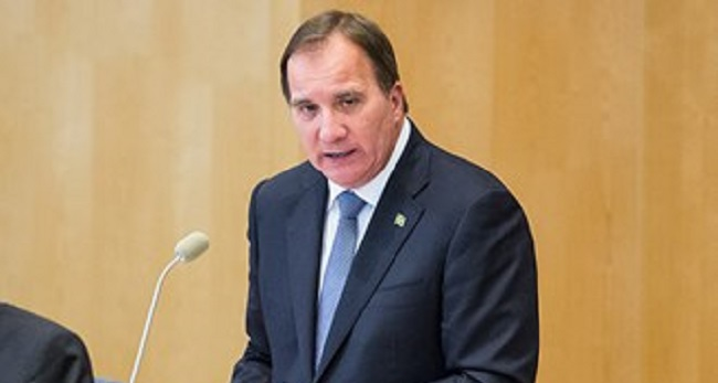 Prime Minister Stefan Löfven spoke at the Climate Change Conference in Paris, France on Monday, November 30