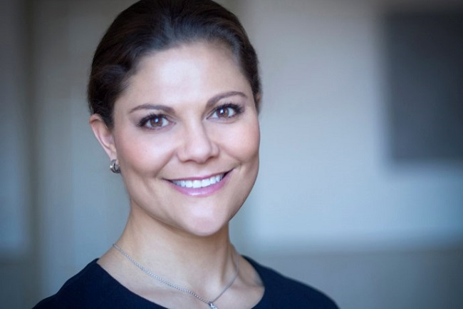 Crown Princess Victoria says the global goals are crucial for the world Photo: Kate Gabor/Swedish Royal Court