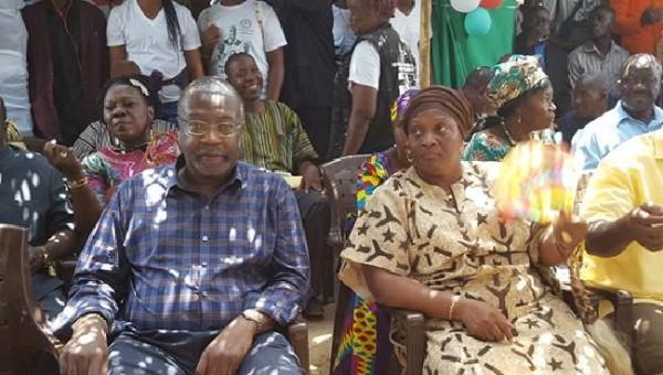 Dr. Jones and Senator Jewel Howard Taylor at the dedication program