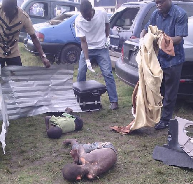 Bodies of two kids reportedly victims of ritualistic killings Photo: Princess Gould