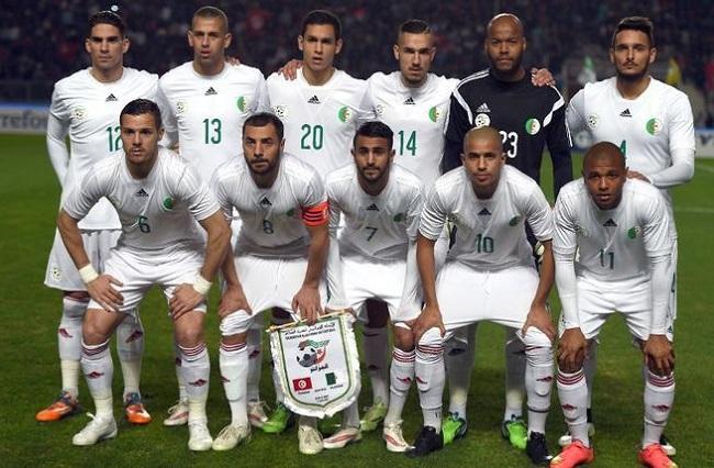 Algeria national football team Photo: albawaba.com