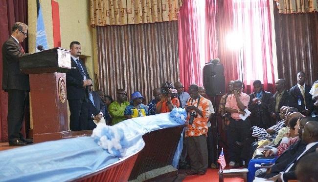 Zarid says Liberia has made progress in the last 13 years of peace