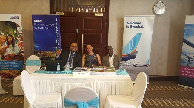 flydubai Team at the DTCM East Africa Roadshow