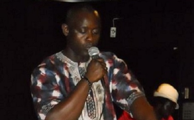Francis Mensah heads the group of concerned Liberians