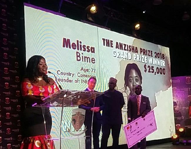 African women shine at 2018 Anzisha Prize gala : Nordic